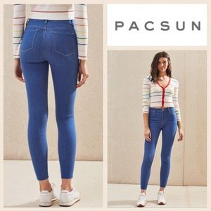 LIKE NEW!  PacSun hi-rise ankle jeggings